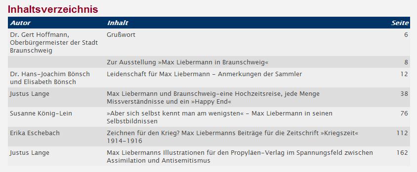 NEU Fachbuch Max Liebermann in Braunschweig REDUZIERT statt 23€ Druckgraphik