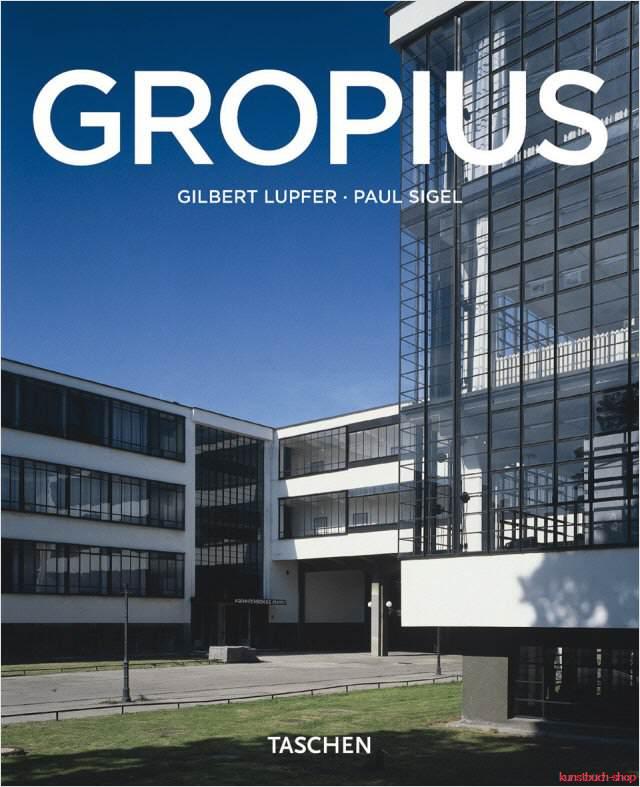 Fachbuch-Walter-Gropius-1883-1969-Propagandist-der-neuen-Form-Bauhaus-NEU
