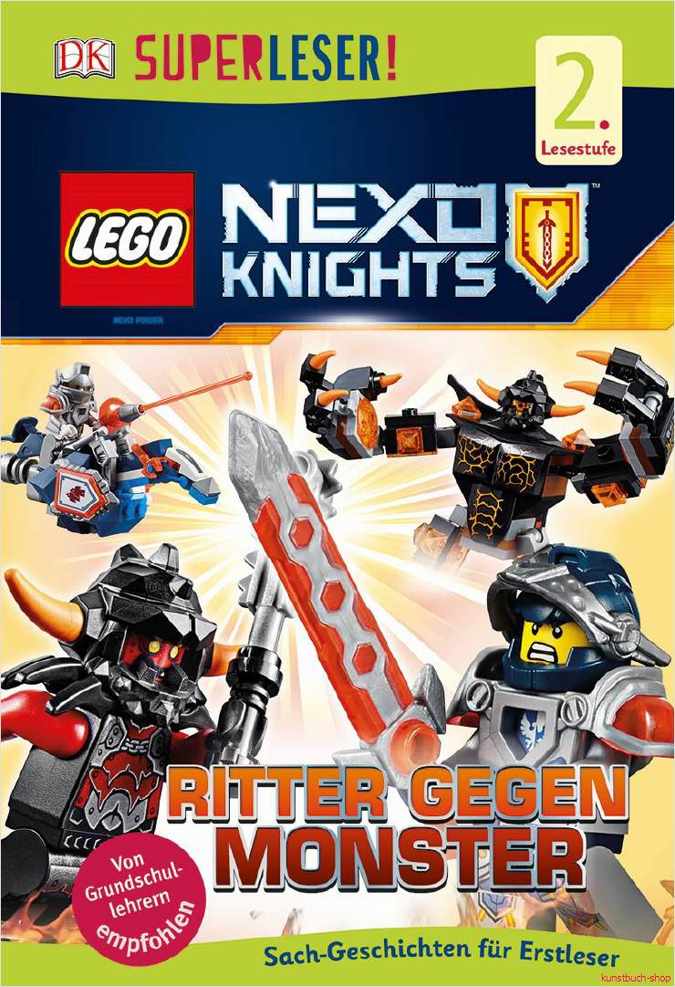 specialist book lego ® nexo knights ™ knight against