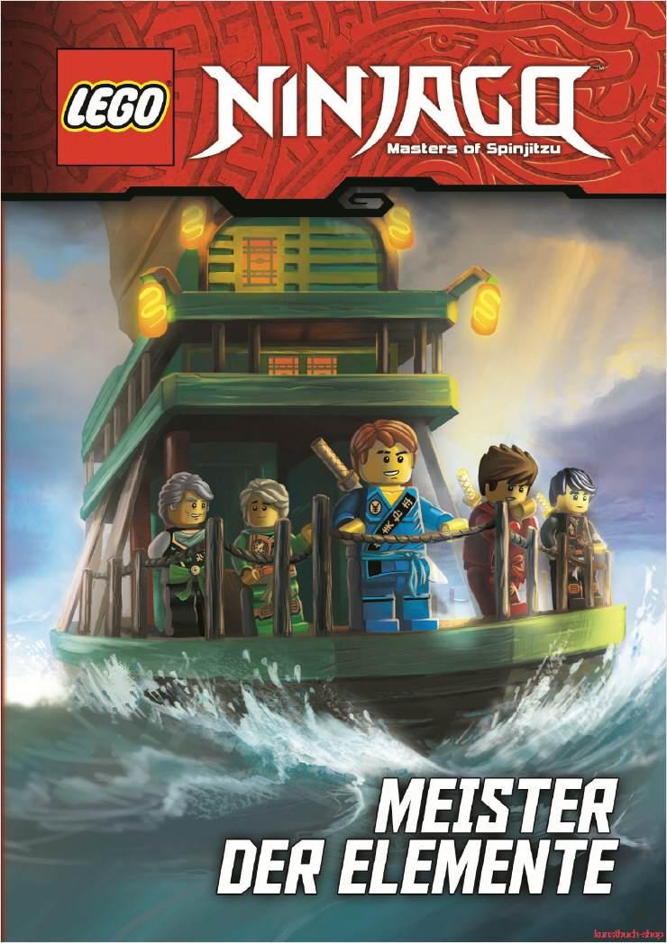 Details Zu Fachbuch Lego Ninjago Meister Der Elemente Mit Spannenden Informationen Neu